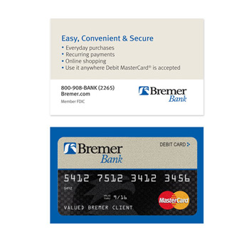 MicroBuff™ Microfiber Custom Business Card Double-Sided