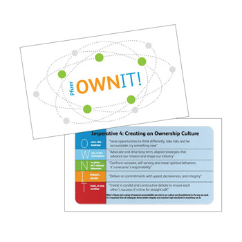 MicroBuff™ Microfiber Custom Business Card One-Sided
